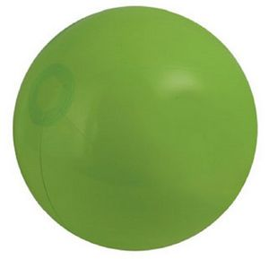 Customized Green Solid Color Beach Balls!