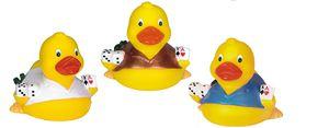 Custom Designed Casino Themed Rubber Ducks!