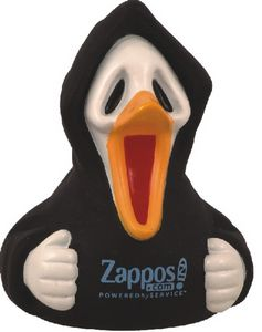 Custom Printed Halloween Scary Rubber Duck Toys