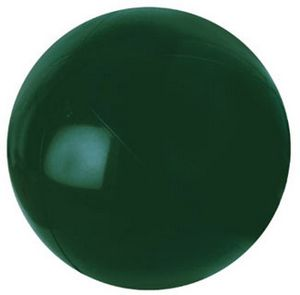 Custom Printed Forest Green Solid Color Beach Balls