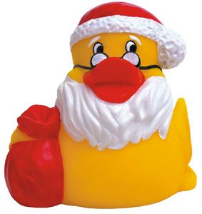 Custom Printed Christmas Holiday Rubber Ducks