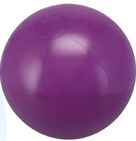 Custom Printed Purple Solid Color Beach Balls