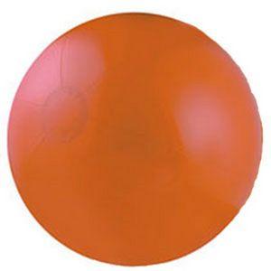 Custom Designed Orange Solid Color Beach Balls!