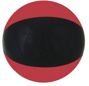Custom Printed Ruby Red and Black Beach Balls