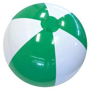 Custom Printed Green and White Beach Balls