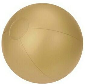 Custom Imprinted Gold Solid Color Beach Balls!