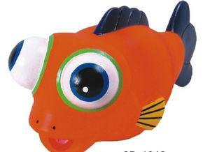 Custom Printed Fish Shaped Squeekie Toys