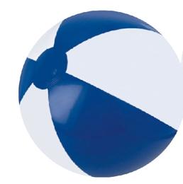 Custom Printed Blue and White Alternating Color Beach Balls
