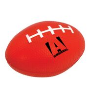 Red Football Stress Ball