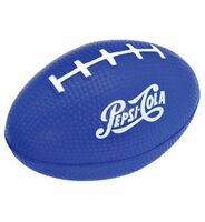 Blue Football Stress Ball