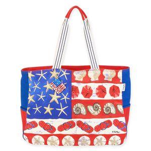 c8a309a955 Paul Brent® Coastal American Flag Oversized Tote Bag - PB1020 - Swag Brokers