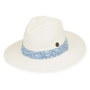 4cb59eb5fa6643 Sun 'N' Sand® Turks Hat w/Pleated Paisley Cotton - HCJ130 - IdeaStage  Promotional Products