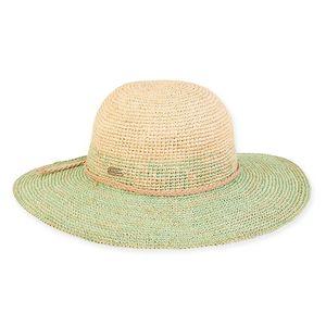 7393f1b6f26ff Sun  N  Sand® Stella Raffia Hat - HH2070 - Swag Brokers