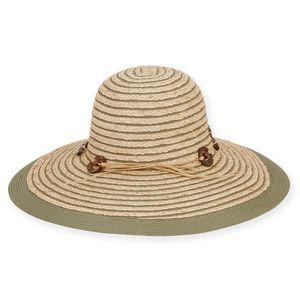 33b454115c1707 Sun 'N' Sand® Raffia Hat w/Coconut Ring Breslin - HH1876 - IdeaStage  Promotional Products
