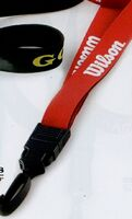 "3/4"" Neoprene Lanyard with Rush Shipping"