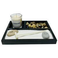 Zen Garden with Candle