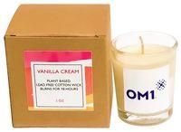 Eco-Friendly Vanilla Cream Plant Based Candle
