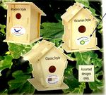 Custom Outdoor Birdhouse Kit