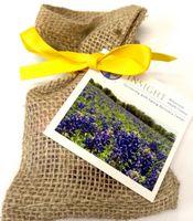 Seeds in Biodegradable Burlap Bag Garden Kit