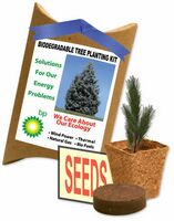 Evergreen Tree Planting Pouch Kit