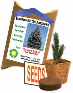 Custom Printed Evergreen Trees