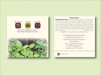 """Mixed Herb Seed Packet (3.25""""x 3.25"""")"""