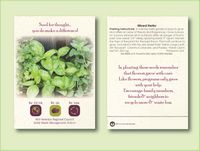Mixed Herb Seed Packet