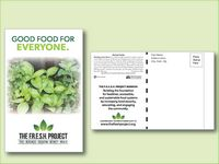 Mixed Herb Seed Packet Postcard Mailer Size