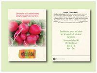 Radish 'Cherry Belle' Seed Packet