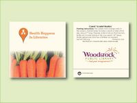 """Carrot 'Scarlet Nantes' Seed Packet (3.25""""x 3.25"""")"""