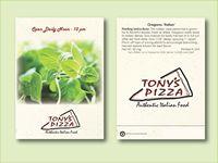Oregano Herb Seed Packet