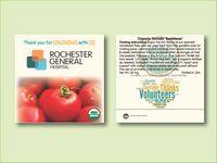"Organic 'Beefsteak' Tomato Seed Packet (3.25""x 3.25"")"