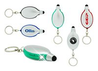Apolo 3 in 1 Stylus, LED Light And Key Chain