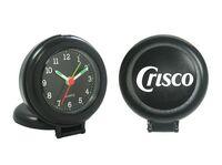 Round Compact Alarm Clock