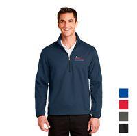 Port Authority® Active 1/2-Zip Soft Shell Jacket