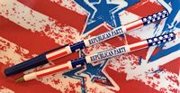 Stars & Stripes Stick Pen