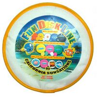 "10"" Nylon Fun 4 Color Disk"