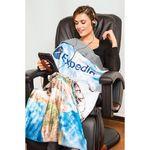 Custom Sublimated Grab-N-Go Travel Blanket (Sublimated)