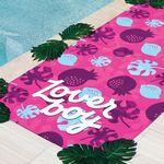 Custom Sublimated Quick Dry Sand Proof Beach Towel