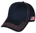 Custom 2 Tone Heavy Construction Stitch Cap