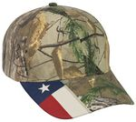 Custom Camo Assorted Cap w/ Flag Accent on Visor