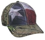 Custom Camo Assorted Cap w/ Flag