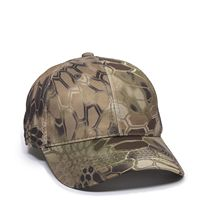 Moisture Wicking Camo Solid Back Cap