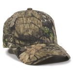 Custom Camo Assorted Cap with Frayed Patch