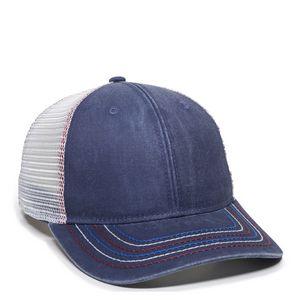 Custom Ladies Fit w/Ponytail Mesh Back Cap