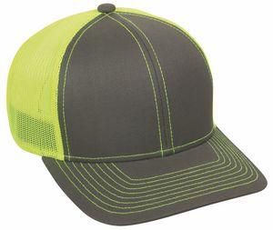6 panel Premium Cotton Twill Mesh Snap Back Cap