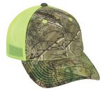 Custom Camo Assorted Neon Mesh Back Cap