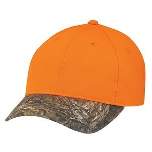 Brushed Polycotton Realtree™ Xtra® Camouflage Hunting Safety Cap
