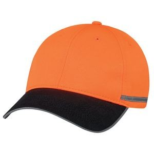 Constructed Full Fit Polycotton/Polyester Reflective Cap