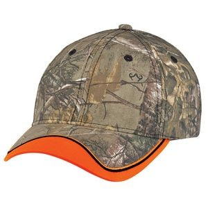 Polyester/Brushed Polycotton Camouflage Hunting Safety Cap